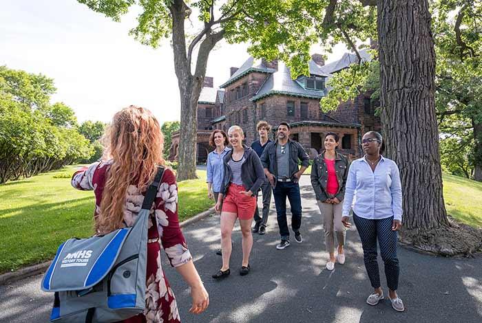 Neighborhood walking tours.