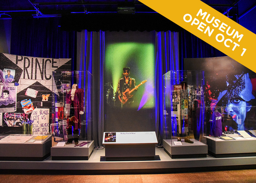 View of the First Avenue Exhibit at the Minnesota History Center. Museum opens October 1.