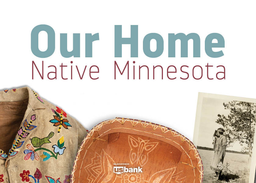 Our home Native Minnesota exhibit.