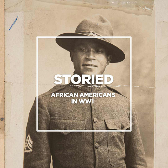 African Americans in WW1.