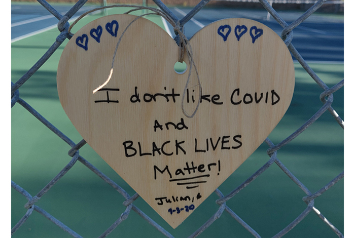 I don't like Covid and Black Lives Matter.