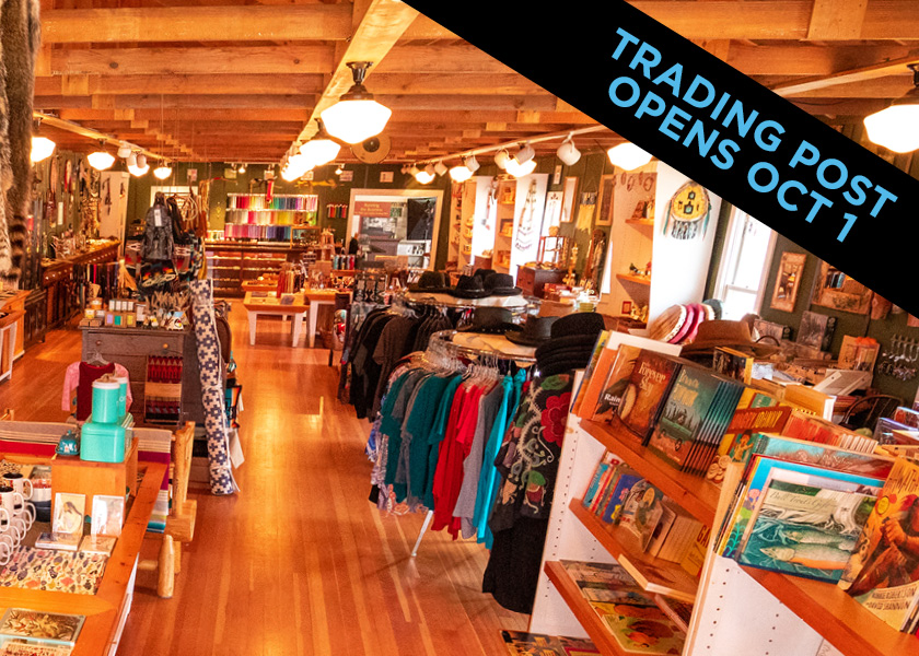 Mille Lacs trading post opens October 1.