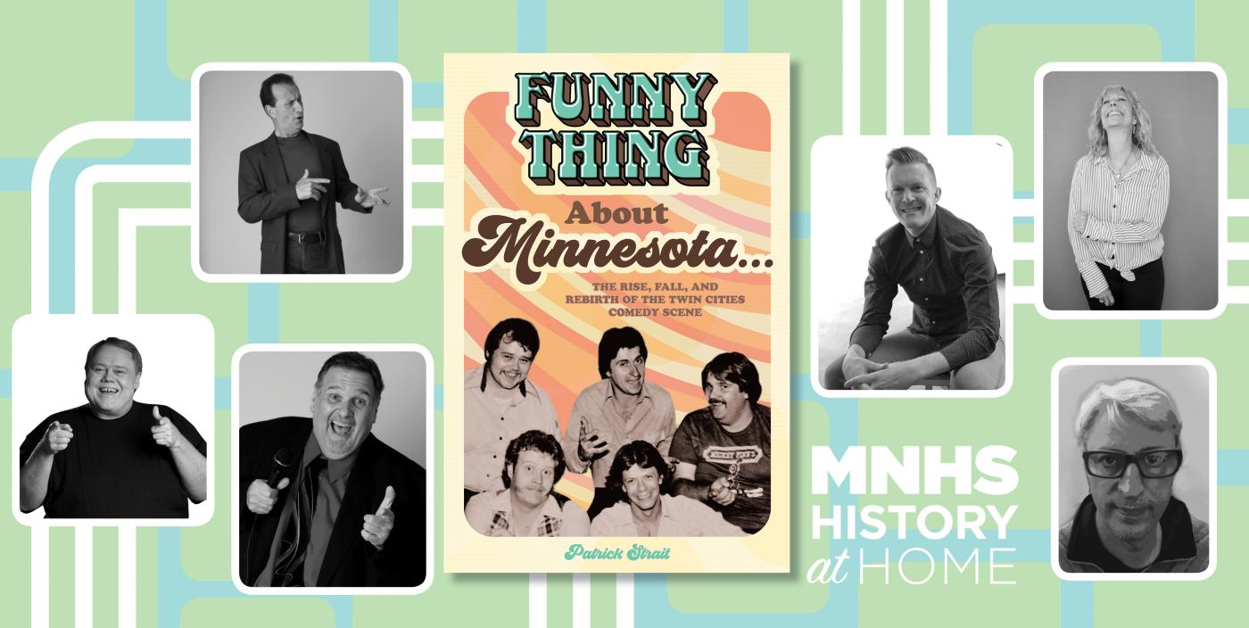 The funny thing about Minnesota book launch.