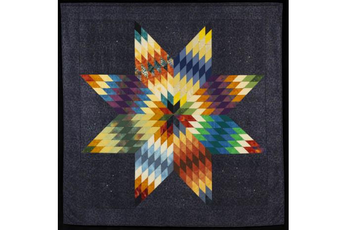 Star quilt.